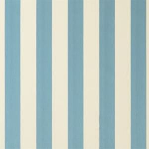 F0886/02 ST JAMES STRIPE Aqua Clarke & Clarke Fabric