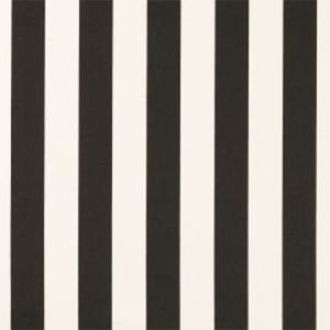 F0886/06 ST JAMES STRIPE Noir Clarke & Clarke Fabric