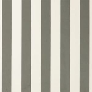 F0886/07 ST JAMES STRIPE Smoke Clarke & Clarke Fabric