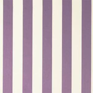 F0886/08 ST JAMES STRIPE Violet Clarke & Clarke Fabric