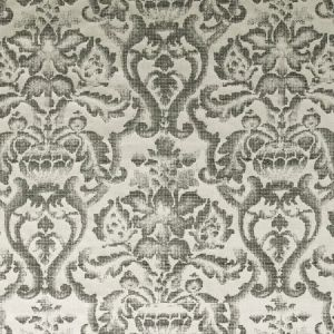 F0892/01 BW1019 Black White Clarke & Clarke Fabric