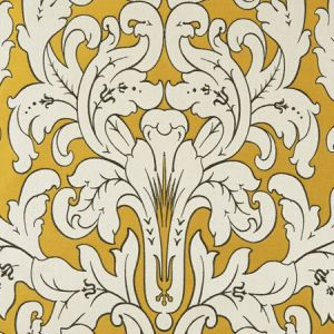F0914/03 CHATEAU Gold Clarke & Clarke Fabric