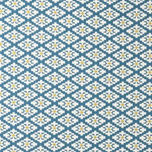 F0918/01 MICHEL Aqua Clarke & Clarke Fabric