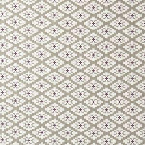 F0918/03 MICHEL Linen Violet Clarke & Clarke Fabric