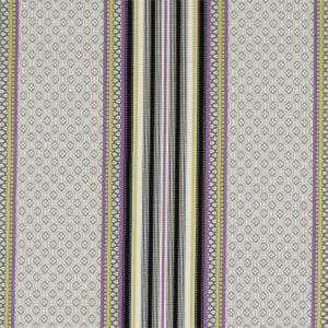 F0920/01 PARADISO Acacia Violet Clarke & Clarke Fabric