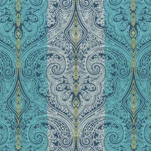 F0931/02 ROXANA Indigo Clarke & Clarke Fabric