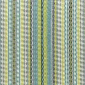 F0932/03 SITORA Indigo Chartreuse Clarke & Clarke Fabric