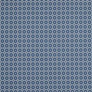 F0935/05 TUMAN Indigo Clarke & Clarke Fabric