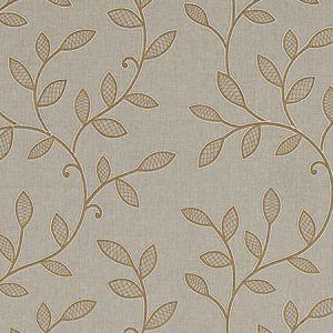 F0937/02 HETTON Caramel Clarke & Clarke Fabric