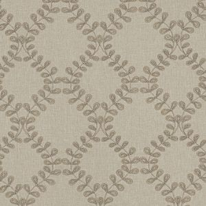 F0939/04 MALHAM Natural Clarke & Clarke Fabric