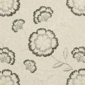 F0940/01 RICHMOND Charcoal Clarke & Clarke Fabric