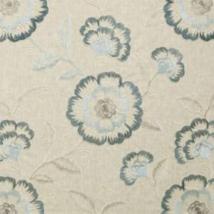 F0940/02 RICHMOND Denim Clarke & Clarke Fabric