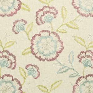 F0940/04 RICHMOND Raspberry Duckegg Clarke & Clarke Fabric