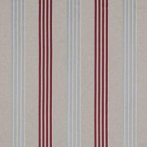 F0941/03 WENSLEY Raspberry Duckegg Clarke & Clarke Fabric