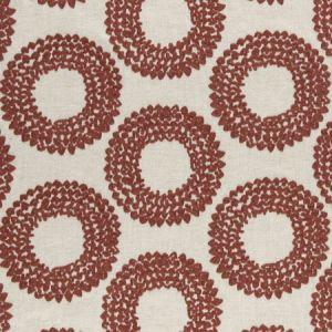 F0954/01 DASHIKI Cinnabar Clarke & Clarke Fabric