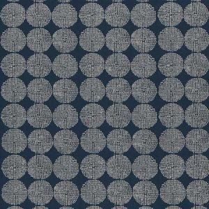 F0956/04 KIKO Indigo Clarke & Clarke Fabric