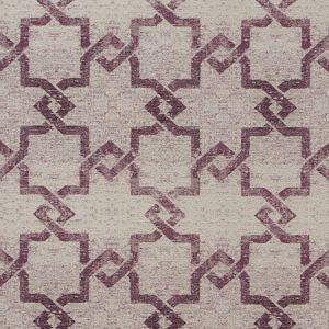 F0985/03 MANOLO Damson Clarke & Clarke Fabric