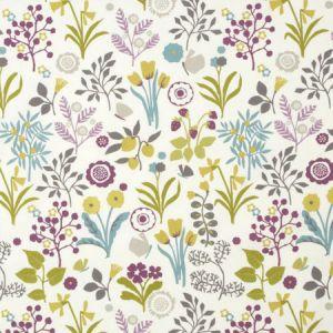 F0991/02 FRIDA Heather Olive Clarke & Clarke Fabric