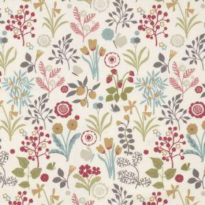 F0991/04 FRIDA Pastel Clarke & Clarke Fabric