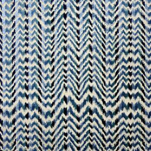 F1 00015596 ATLAS Bleu Old World Weavers Fabric