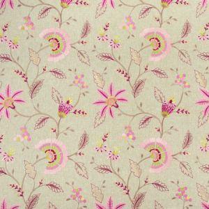 F1004/05 DELAMERE Raspberry Clarke & Clarke Fabric