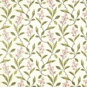 F1008/05 MELROSE Pink Apple Clarke & Clarke Fabric