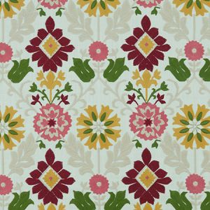 F1022/06 AUGUSTINA Raspberry Apple Clarke & Clarke Fabric
