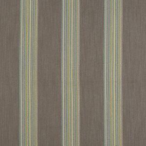 F1023/04 BOHO STRIPE Mineral Citron Clarke & Clarke Fabric