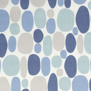 F1036/02 BUBBLE Denim Clarke & Clarke Fabric