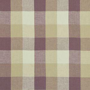 F1042/04 AUSTIN CHECK Heather Clarke & Clarke Fabric