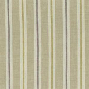 F1046/03 SACKVILLE STRIPE Heather Linen Clarke & Clarke Fabric