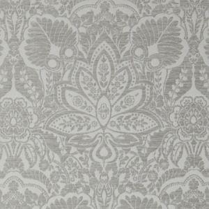 F1075/05 WALDORF Silver Clarke & Clarke Fabric
