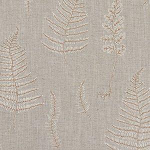F1092/02 LORELLE Linen Ivory Clarke & Clarke Fabric