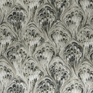 F1094/02 PAVONE Charcoal Natural Clarke & Clarke Fabric