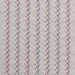 F1117/02 NORAH Coral Denim Clarke & Clarke Fabric