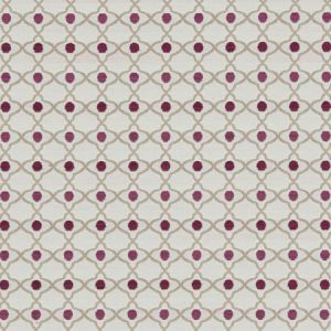 F1139/05 VENUS Raspberry Clarke & Clarke Fabric