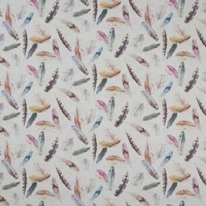 F1154/01 FEATHER Linen Clarke & Clarke Fabric