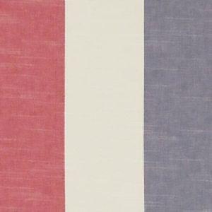 F1308/04 BUCKTON Denim Red Clarke & Clarke Fabric