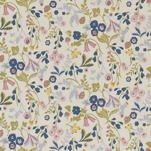 F1312/06 ASHBEE Teal Blush Clarke & Clarke Fabric