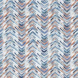 F1358/03 MEDLEY Teal Spice Clarke & Clarke Fabric
