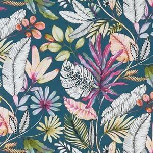 F1363/02 TROPICANA Multi Clarke & Clarke Fabric