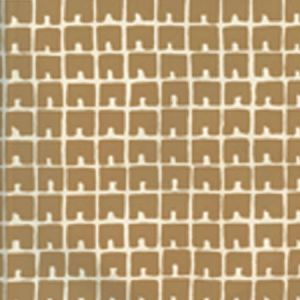 4045-07WP FEZ II Gold Metallic On Off White Quadrille Wallpaper