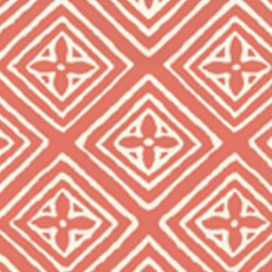 2490-08WP FIORENTINA New Shrimp On Tint Quadrille Wallpaper