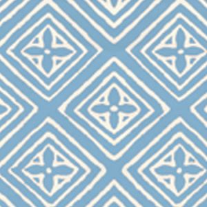 2490-43WP FIORENTINA Zibby Blue On Almost White Quadrille Wallpaper