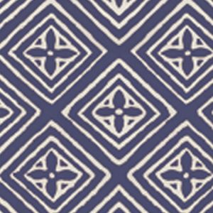 2490-50WP FIORENTINA Navy On Almost White Quadrille Wallpaper