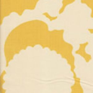 7010-05 FLORA BACKGROUND Inca Gold on Tint Quadrille Fabric