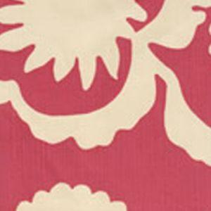 7010-04 FLORA BACKGROUND Magenta on Tint Quadrille Fabric
