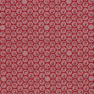 GAZELLE 1 Poppy Stout Fabric
