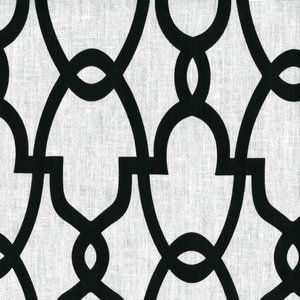 GENTRY Black Cc10 Norbar Fabric