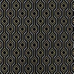 GILDA Black Tan 936 Norbar Fabric